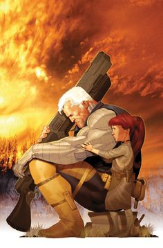 ✭ Cable and Hope Summers by Ariel Olivetti