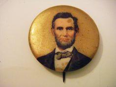Antique Abraham Lincoln Commemorative Political by parkledge, $95.00