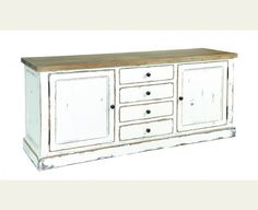 Hickory Sideboard - Distressed