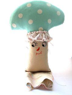 Mushroom Toadstool Plush / Jess Quinn