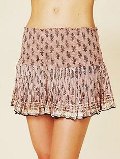 love this! FP shine mini skirt