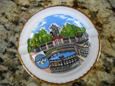 Donauquelle Donaueschingen Bavaria W. Germany Kleiber Manf. Collectors Ashtray | eBay