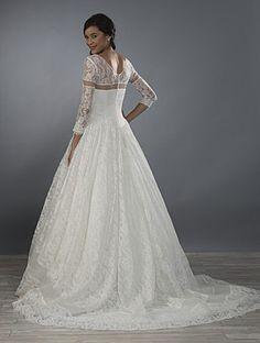 ALFRED ANGELO Bridal, Style 2475. #BestForBride