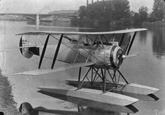 FRENCH AIRCRAFT FIRST WORLD WAR (Q 66287) Hanriot HD.3.C 2 two-seat fighter-reconnaissance float plane.