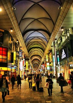 Hondori. Hiroshima, Japan.  I'd shop here when I visited my parents from boarding school.