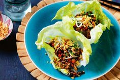 Get dinner on the table in a flash with this vibrant mushroom san choy bay