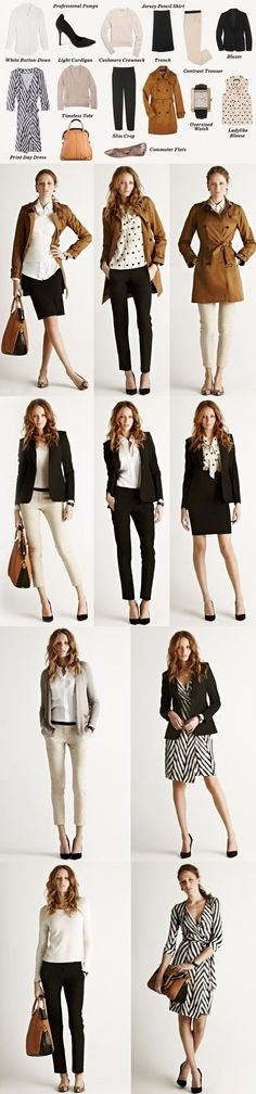 Work wardrobe idea from ShopBop