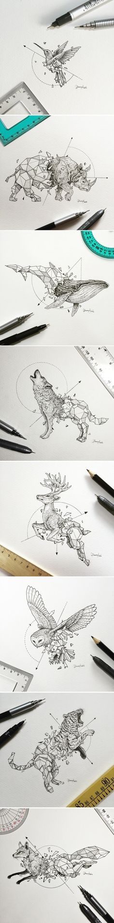 Manila-based illustrator Kerby Rosanes known as Sketchy Stories has created a…