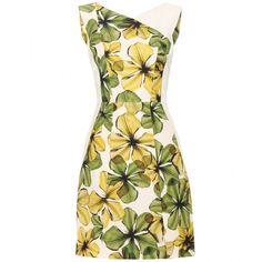 Jason Wu Grosgrain Floral Print Dress ($2,395) ❤ liked on Polyvore