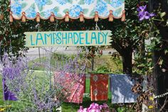 """""""Lampshades as a design element; Lakes Lampshade's Lampshade Lady takes lampshade making to an art. Diy Furniture Projects, Fun Projects, Make A Lampshade, Vintage Lamps, Drum Shade, Lamp Shades, Design Elements, Glow, Lights"""