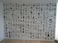 hand drawn wallpaper...another awesome post by @Daniel Oropeza Rebón