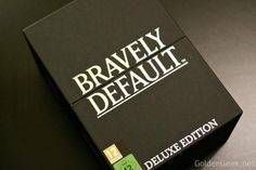 [Unboxing] Bravely Default Edition Collector Deluxe