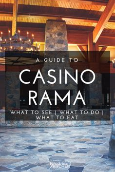 Casino Rama: What To