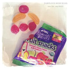 A treat my daughter will be excited to find in her lunch box. YumEarth Organics Fruit Snacks.