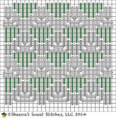 Combination Lattice Stitch