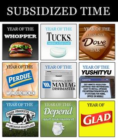 Subsidized time from Infinite Jest