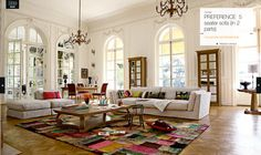 Roche Bobois - Preference 5 Seater Sofa from Collection Les Provinciales