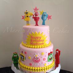 Yo Gabba Gabba Cake - by Mari's Boutique Cakes