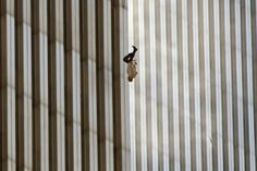 "The story behind the person ""the falling-man"" on 9/11-Twin-Towers"