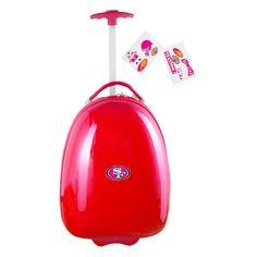 NFL San Francisco 49ers Mojo Kids Luggage Pod - Red