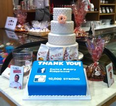 Thank You to our amazing fans! We've reached over 10,000 likes on Carlo's Bakery Ridgewood Facebook page!  https://www.facebook.com/CarlosBakeryRidgewood