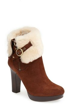 Nordstrom Boots - UGG® Australia 'Scarlett' Fixed Cuff Platform Boot (Women) available at Pretty Shoes, Cute Shoes, Me Too Shoes, Heeled Boots, Bootie Boots, Shoe Boots, Ugg Australia, Original Ugg Boots, Site Nike