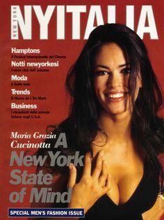 New York Italia Maria Grazia Cucinotta