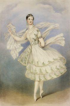 Antique Ballerina Illustration by Jodie Lee Designs on @creativework247