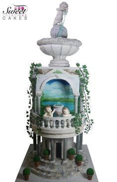Italian renaissance Art :Cake designer world championship by Sweet Creations Cakes