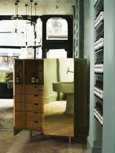 Aesop store in London designed by Ilse Crawford of Studioilse.