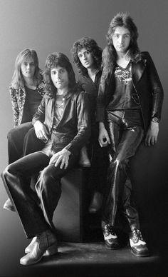Queen, 1974, by Johnny Dewe Mathews
