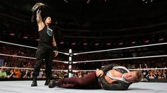 In the end, Reigns stands tall after spearing Jericho.