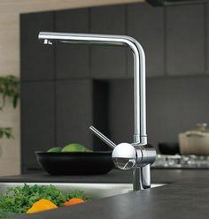 キッチン水栓をグローエのデザイン水栓に*:・。:(外構・庭・リフォーム)エクステリア情報