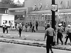 Akron Riot 1968 - Police & National Guard