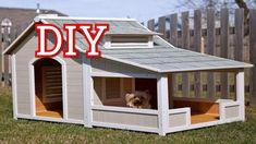 30 Блестящих идей собачьих домиков | будка для собаки | домик для собаки...