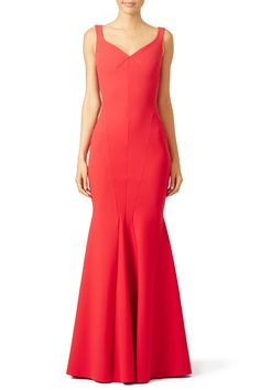fa9c6b94f63 Rent Red Whitney Gown by La Petite Robe di Chiara Boni for  175 only at Rent