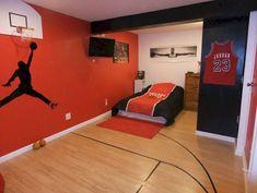 Cool sport bedroom ideas for boys (48)