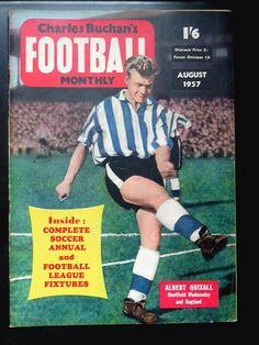 Sheffield Wednesday Football, Vintage Football, Magazine Articles, Owls, Magazines, Soccer, Baseball Cards, History, Futbol