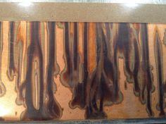 Embossed Patina Copper Sheet by BeyondBeadsGallery on Etsy