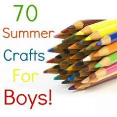 crafts boys will love