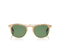 GOLD PLATED SUNGLASSES | Shop Tom Ford Online Store