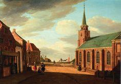 Paulus Constantijn Fargue (1729-1782). De Oude Kerk van Scheveningen.