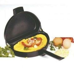 Non-Stick Folding Omelet Pan Make perfect omelets with ease Nonstick coating is easy to cook with an easy to clean Hinge design eliminates mess Compact design Price: Rs. For Order Call Now: Free Home Delivery Nationwide. Best Omelette Pan, Home Gadgets, Fried Fish, Breakfast For Dinner, Griddle Pan, Make It Simple, Kitchen Dining, Tasty, Cooking