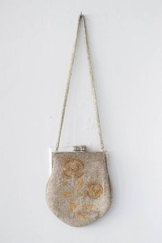 Beaded Floral Bag w Long Strap - Millay Floral Bags, The Chic, Vintage Accessories, Archive, Romantic, Shopping, Fashion, Moda, Fashion Styles