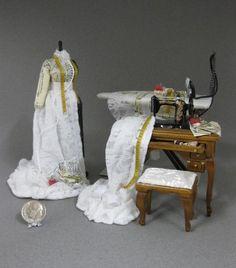 dressmaking in miniature