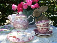 Two Cottages And Tea: Easter Bunny Tea