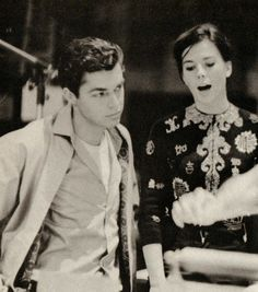 richard beymer and natalie wood. They're both so gorgeous.