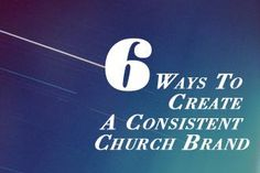 6 Ways to Create a Consistent Church Brand - great tips for anyone praying about a new brand for their ministry Church Interior Design, Church Stage Design, Church Outreach, Church Bulletins, Church Welcome Center, My Church, Church Ideas, Church Ministry, Business Inspiration