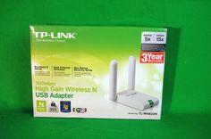 WLAN Adapter USB TP Link TL-WN822N High Gain N 300 Mbit Wireless LAN Dongle