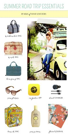 Summer Road Trip Essentials // What Love Does